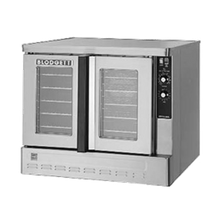 Blodgett ZEPH-200-G BASE Zephaire Convection Oven, gas, (base section only) single-deck, bakery depth, capacity (5) 18