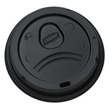 LID BLACK DOME 20 OZ PERFECT TOUCH (1000)