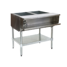 Eagle AWT2-NG-1X Water Bath Hot Food Table, natural gas, open base, 33