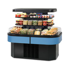 Federal IMSS60SC-3 Specialty Display Island Self-Serve Refrigerated Merchandiser, 60