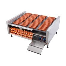 Star 75SCBD Grill-Max Hot Dog Grill, roller-type with integrated bun drawer, stadium seating, Duratec coated non-stick rollers, capacity 75 hot