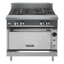 Vulcan V4B36S V Series Heavy Duty Range, gas, 36