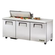 TRUE TSSU-72-10-HC Sandwich/Salad Unit, (10) 1/6 size (4