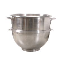 FMP 205-1022 Mixing Bowl, 80 qt. capacity, with bottom ring to prevent tipping, 14 gauge, 304 stainless steel, NSF