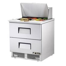 TRUE TFP-32-12M-D-2 Sandwich/Salad Unit, one section, self-contained, (12) 1/6 size (4