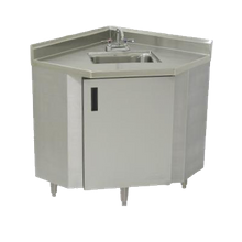 Advance Tabco SHK-2441 Sink Cabinet, corner design, 16