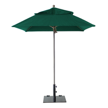 Grosfillex 98662031 Windmaster Umbrella, 6-1/2 ft., square top, 1-1/2