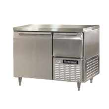Continental DLRA43-SS Designer Line Refrigerated Base Worktop Unit, 43