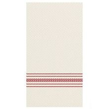 DINNER NAPKIN RED DISHTOWEL F'POINT 1/8 FLD 15.5X15.5(800)