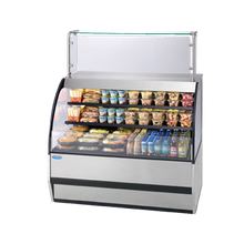 Federal SSRVS-3642 Specialty Display Versatile Service Top over Refrigerated Self-Serve Deli Merchandiser, 36W x 34D x 42H, self contained
