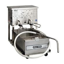 Pitco Frialator P14 Portable Fryer Filtration Unit features a low-profile design and an oil capacity of 55lb.