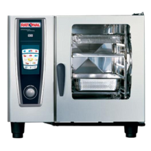 Rational B618106.12 (SCC 61 E 208V Three Phase) SelfCooking Center Combi Oven/Steamer, electric, (6) 13