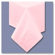TABLECOVER 54X108 PINK (25) PAPER/POLY