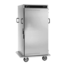 Alto-Shaam 1000-BQ2/96 Halo Heat Banquet Cart, 96 plate capacity, ON/OFF power switch, up and down arrow buttons, heat indicator light, temperature