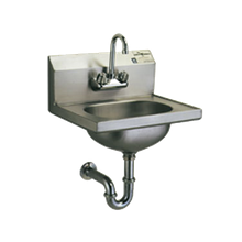 Eagle HSA-10-FA-1X Hand Sink, wall mount, 13-1/2