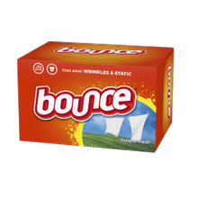 FABRIC SOFTENER SHEETS BOUNCE (6-160)