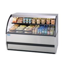 Federal SSRVS-5933 Specialty Display Versatile Service Top over Refrigerated Self-Serve Counter Case, 59W x 34D x 33H, self contained