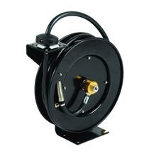 T&S Brass 5HR-232 Equip Open Hose Reel, powder coated steel, 3/8