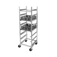 Channel GRR-6 Glass Rack Cart, full height, 24