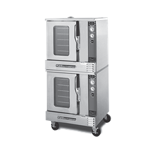 Southbend GH/20SC MarathonerGold Convection Oven, gas, half size, standard depth, double-deck, standard control, two speed, fan motor, solid state