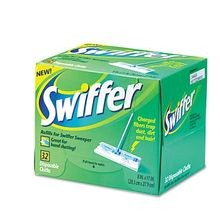 SWIFFER DRY MOP REFILL WHITE 6/32CT