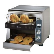 Star QCS1-500B Star QCS Conveyor Toaster, electric, 500 slices/hr. bagel toaster, horizontal conveyor, analog speed control, standby switch, top
