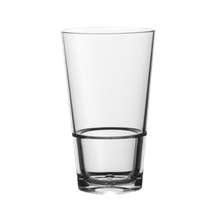 Drinique CALIBER PINT 16OZ Caliber Pint Glass, 16 oz., (H 5-7/8; M 3-1/2; T 3-1/2; B 2-3/8), Tritan Copolyester, BPA Free, Drinique, Caliber (24 ea/cs)
