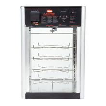 Hatco FDWD-1 Flav-R-Fresh Holding & Display Cabinet, counter model, (1) door, (4) tier interior revolving circular rack & rack motor, 1390W, cULus