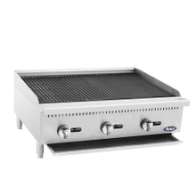 Atosa ATRC-36 Heavy Duty Radiant Charbroiler, Natural gas, countertop, 36