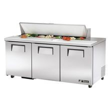 TRUE TSSU-72-16-ADA-HC ADA Compliant Sandwich/Salad Unit, (16) 1/6 size (4
