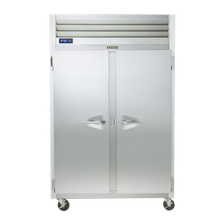 Traulsen G24300 Dealer's Choice Hot Food Holding Cabinet, Reach-in, two-section, microprocessor control, half-height stainless steel doors (hinged