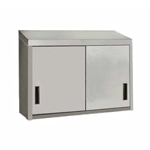 Advance Tabco WCS-15-60 Cabinet, wall mount, enclosed design with (2) sliding doors, 60