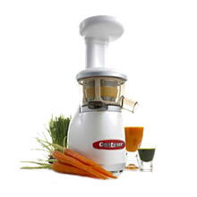Centaur CVRT350 Extracting Juicer, compact design, auto cleaning system, crushing ribs, 120V/60/1-ph, 250 watts, 1/3 hp, 80 RPM,
