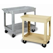 CART UTILITY 40X25.5X33 GRAY 2 SHELF