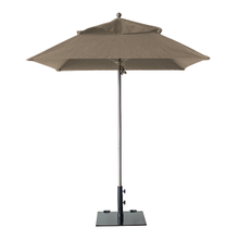 Grosfillex 98665831 Windmaster Umbrella, 6-1/2 ft., square top, 1-1/2