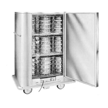 Carter-Hoffmann BB60 Classic Carter-Hoffmann Banquet Cabinet, mobile, insulated, single door for pre-plated food, (72) covered plates up to 10.5