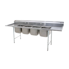 Eagle 414-16-4-18-X 414 Series Sink, four compartment, 107-3/4