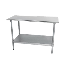 Stainless Steel Work Tables Stainless Steel Prep Tables - 18 x 48 stainless steel work table
