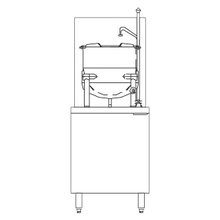 Blodgett CB24G-10K Kettle/Stand Assembly, Gas, 24