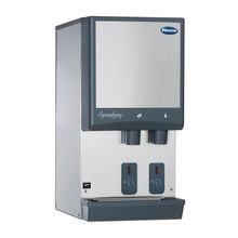 Follett 12CI425A-S Symphony Plus Ice & Water Dispenser, countertop, SensorSAFE dispense, integral ice machine, Chewblet nugget ice, air-cooled
