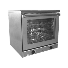 Equipex FC-60/1 Sodir Ariel Convection Oven, electric, compact, single-deck, (4) 1/2 size sheet pan capacity, 570F thermostatic controls with 120