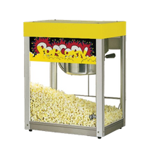 Star 39-A Jetstar Popcorn Machine, Electric, Countertop, 6 Oz. Kettle Capacity, (135) 1 Oz. Servings/Hr., Interior Heating Lamp, 1/8