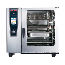 Rational B128206.19D (SCC 102LP) SelfCooking Center Combi Oven/Steamer, LP, iCookingControl with 7 modes, HiDensityControl, iLevelControl