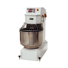 Doyon AEF025SP Spiral Mixer, 88 lb. dough capacity, 2 speeds, programmable digital control, stationary stainless steel bowl, safety guard & mixing