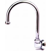 T&S Brass B-0525 Spout, swivel gooseneck, wall mounted, 3/8