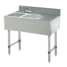 Advance Tabco CRB-42L Underbar Basics Sink Unit, 2-compartment, 48