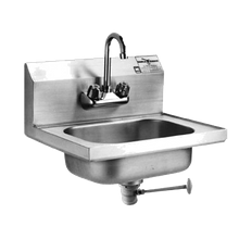 Eagle HSA-10-FL-1X Hand Sink, wall mount, 14