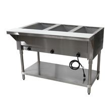 Advance Tabco HF-3E-240-X Hot Food Table, electric, 47-1/8