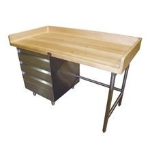 Advance Tabco BST-306L Bakers Top Work Table, 72