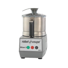 Robot Coupe BLIXER 2 Blixer, Commercial Blender/Mixer, vertical, 2.5 qt. capacity, stainless steel bowl with handle, stainless steel